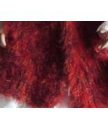 Ladies Handknit Fashion Retro Scarf or Stole Re... - $10.95