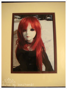 "Matted Art Print 8""x10"" of Tenshidoll 6"