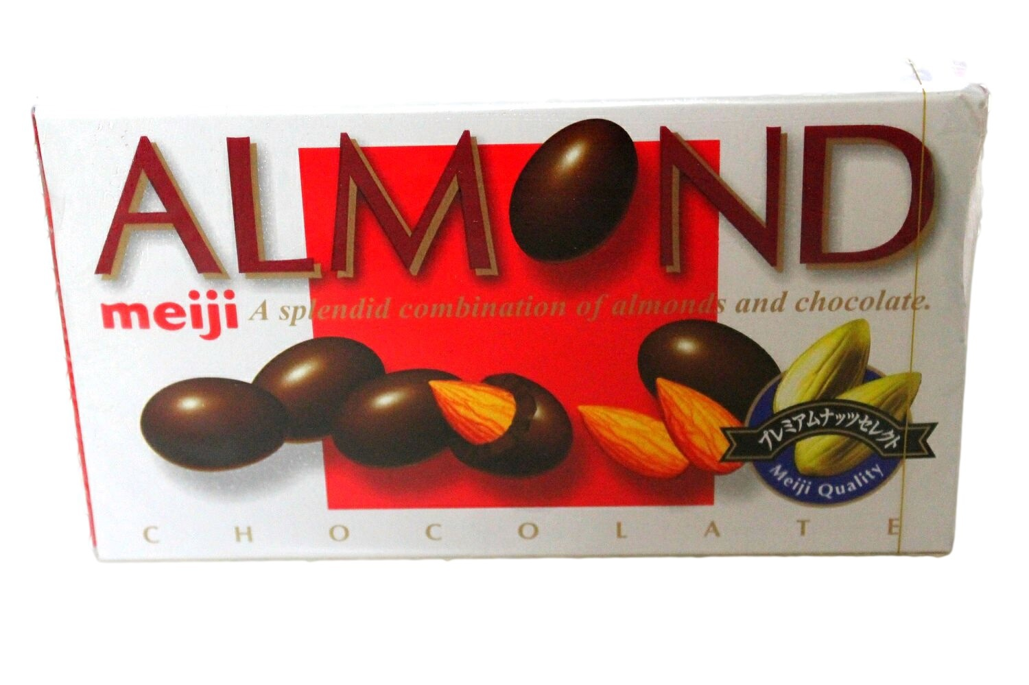 Meiji Almond Chocolate Box Japan Candy Chocolate