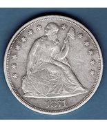 Silver Dollar 1871  US Coin  - $775.00
