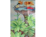 Buy Chickadee Birdbath Mini Garden Flag - New