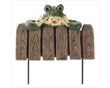 Buy Frog Mini Garden Fence 39703