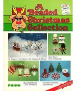Y953 Bead PATTERN Book ONLY A Beaded Christmas ... - $23.45