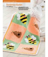 W330 Crochet PATTERN ONLY Bumblebee and Honey H... - $8.45