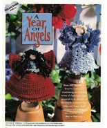 X258 Crochet PATTERN ONLY Clothespin Angels Pop... - $10.45