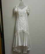 Betsy and Adam white informal bridal gown size 5/6 - $75.00