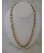 SOLD! Silver & Gold Color Chain Maille Necklace... - $80.00