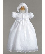 Gorgeous Lace Baby Girl Christening Dress Hat S... - $35.84 - $36.81