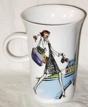 Second Cup Mug Fashion Ladies Shopping Glamour ... - $8.41