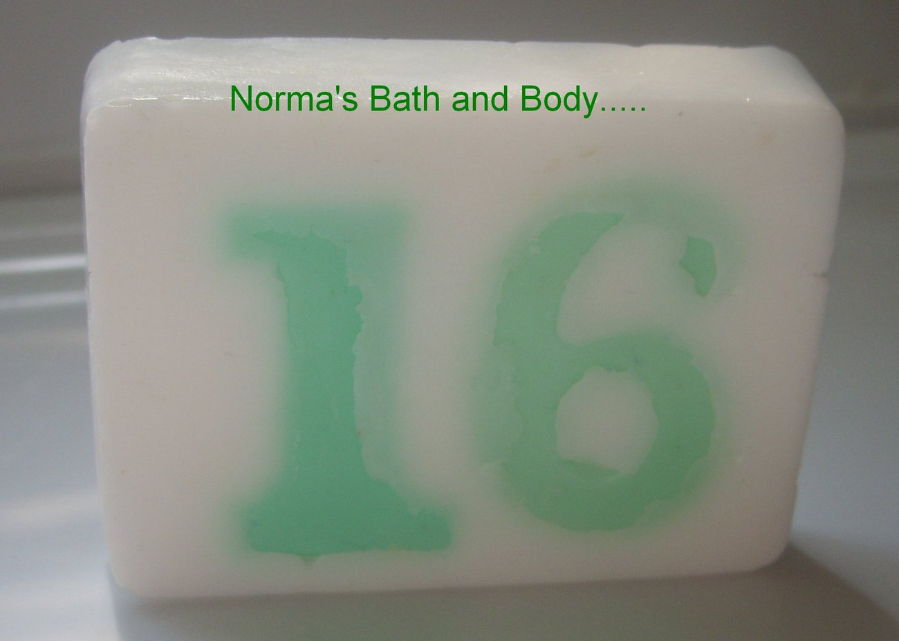 16th birthday soap