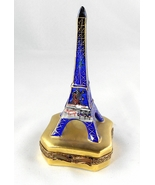 Limoges Box Eiffel Tower & Cafe Paris By Night ... - $130.00