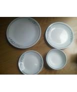 Set of 14 Corelle Rosemarie Dinner Plate Bowl B... - $24.74