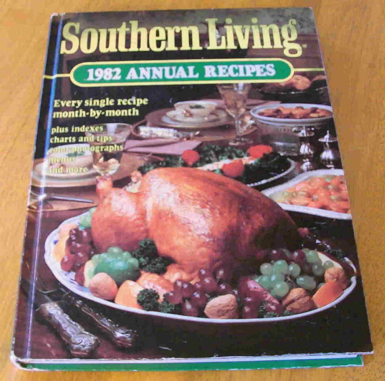Cookbook Southern Living 1982 Annual Recipes