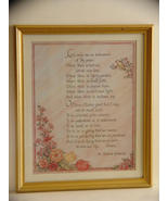 Large Framed Prayer of St.Francis Calligraphy P... - $13.99