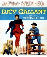 Lucy Gallant 1955 DVD Jane Wyman Charlton Heston  - $9.00