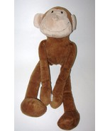 Fiesta Velcro Monkey Brown Plush Stuffed Animal... - $17.97