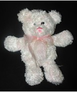 People Pals Teddy Bear Pink Yellow Tie Dye Bow ... - $15.88