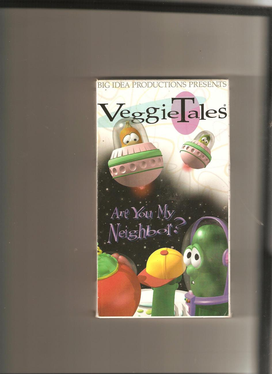 Veggie Tales Are You My Neighbor 1995 Vhs Tapes