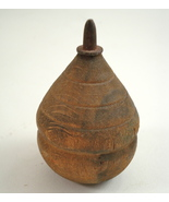 antique wood spin top 3 - $35.00