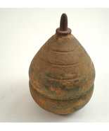 antique wood spin top 5 - $35.00