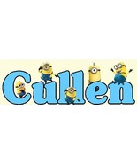 Minions Customized Wooden Sign (boy) - $11.50
