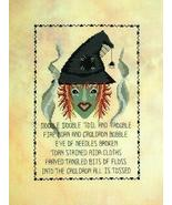 FlosseMar the Stitcher's Witch halloween cross ... - $7.20