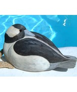 Vintage Bufflehead Duck Decoy Wood Carved Signe... - $84.95