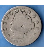 1883 Liberty Head  Nickel W/C USCoin  - $9.00