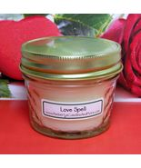 Lovespell (Type) PURE SOY 4 oz. Soy Jelly Jar C... - $5.25