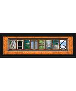 Wartburg College Officially Licensed Framed Let... - $36.95