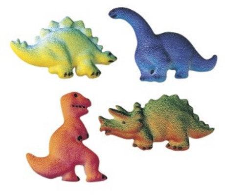 Dinosaur Edible Cake Images Nz : Dinosaur Edible Sugar Cupcake Toppers - Candles & Cake Toppers