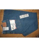 Ladies LEVIS 6P Boot Cut Blue Classic 550 Relax... - $24.99