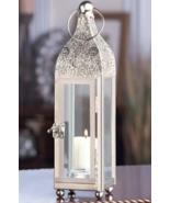 Silver Metal Candle Lantern - $17.00