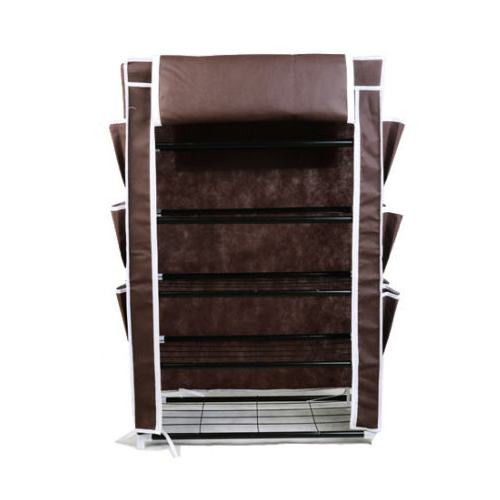 Shoe Storage Boxes Pair Tower Space Saver Standing Closet Shelf Shoes Rack Shoe Organizers