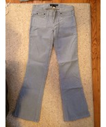 Abercrombie And Fitch Dusty Blue Corduroy Pants... - $8.99
