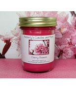 Cherry Blossom  PURE SOY  Jelly Jar Candle - $8.00
