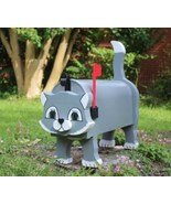 Whimsical Kitty Mailbox , You Pick the Color - $130.00