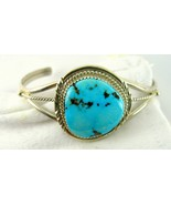 Classic Southwestern Artist Turquoise Triangle ... - $163.36