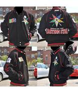 Order of the Eastern Star O.E.S Black Twill Jac... - $109.24
