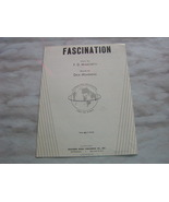 Fascination Vintage Piano and Vocal Sheet Music... - $4.99