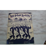 Bell Bottom Trousers Vintage Piano and Vocal Sh... - $5.99