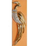 Vintage Monet Figural Bird Brooch Pin - $40.00