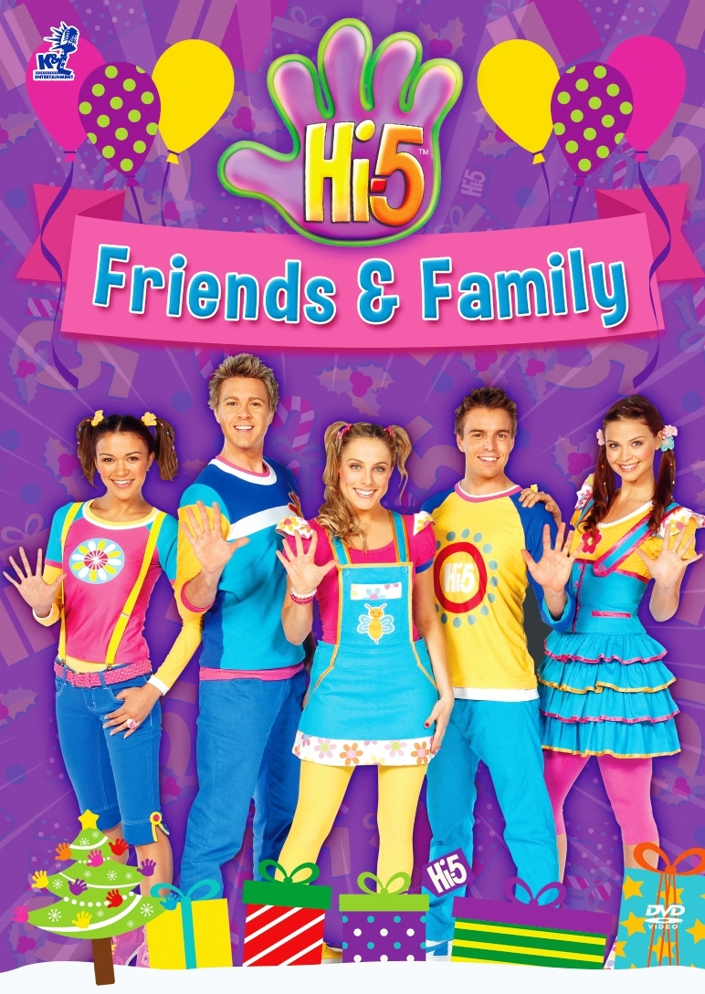Dvd hi 5 friends and family 5 episodes australia series season 13 region all dvd hd dvd blu ray Australia home and garden tv show