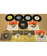 Bundle of 11 Miscellaneous 7in Vinyl Records De... - $22.49