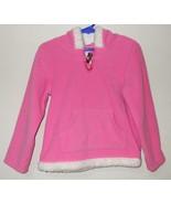 Girls Carters Pink Fleece Long Sleeve Hooded To... - $5.00
