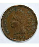 1900 Indian Head circulated penny VF/XF Details - $13.00