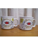 Two Campbell's Tomato Soup Mugs 1999 By Westwood - $15.83