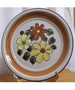 Stoneware Daisy Vale JC Penny Vintage Dinner Plate - $9.89
