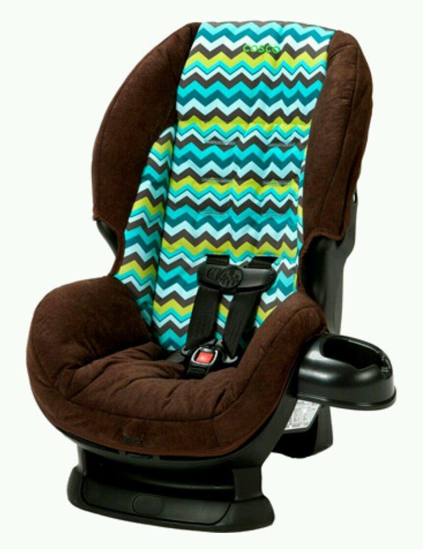 Brown Cosco Car Seat