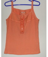 Girls Cherokee Orange Tank Top Size Small - $4.00